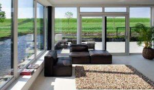 پنجره دوجداره upvc  در مکان های مختلف