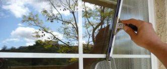 تمیزکاری پنجره دوجداره